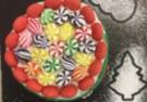 Świąteczny tort z niespodzianką