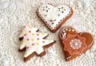 Pierniczki w cukrowych koronkach